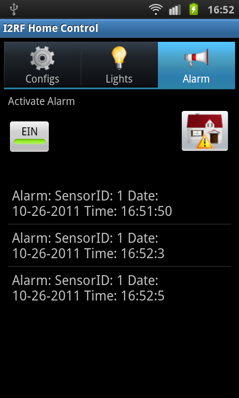 Lightig App Alarm