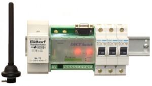 DECT Switch auf Schiene-3